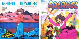 Babil Junior / Lalabel disco vinile 45 giri