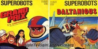 Grand Prix e il campionissimo / Daltanious disco vinile 45 giri