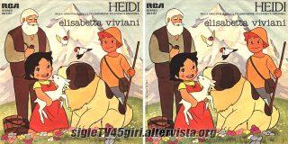 Heidi / Daniel e Bebel disco vinile 45 giri
