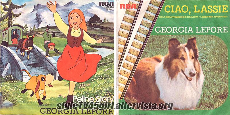 Vinile 45 giri Peline Story / Ciao, Lassie