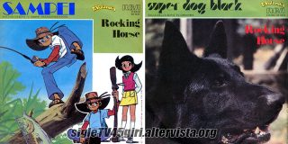 Sampei / Super Dog Black disco vinile 45 giri