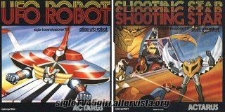 Ufo Robot / Shooting Star disco vinile 45 giri