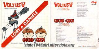Voltus Five / Chicho e Coca disco vinile 45 giri