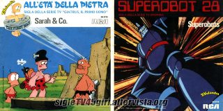 All'età della pietra / Superobot 28 disco vinile 45 giri