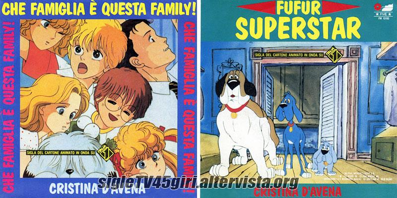 Vinile 45 giri Che famiglia è questa Family! / Fufur superstar