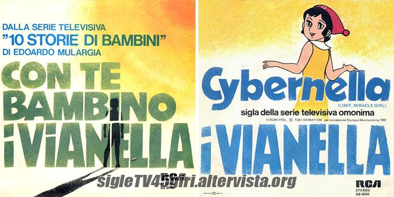 Vinile 45 giri Con te bambino / Cybernella