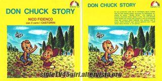 Don Chuck Story / Zawa Zawa disco vinile 45 giri
