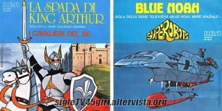La spada di King Arthur / Blue Noah disco vinile 45 giri