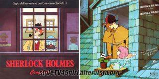 Sherlock Holmes disco vinile 45 giri