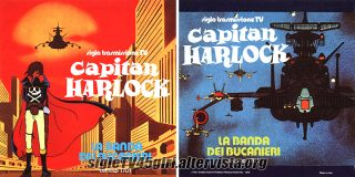 Capitan Harlock / I corsari delle stelle, disco vinile 45 giri