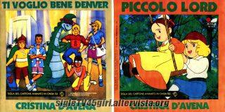 Ti voglio bene Denver / Piccolo Lord disco vinile 45 giri
