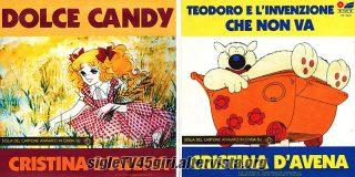 Dolce Candy / Teodoro e l'invenzione che non va disco vinile 45 giri