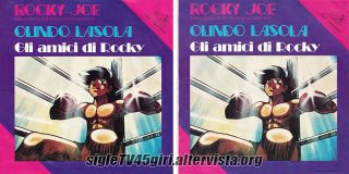 Rocky Joe / Olindo Lasola disco vinile 45 giri