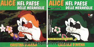 Alice nel paese delle meraviglie disco vinile 45 giri