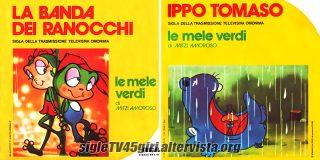 La banda dei ranocchi / Ippo Tomaso disco vinile 45 giri