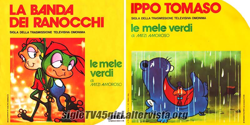 Vinile 45 giri La banda dei ranocchi / Ippo Tomaso