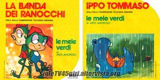 La banda dei ranocchi / Ippo Tommaso disco vinile 45 giri
