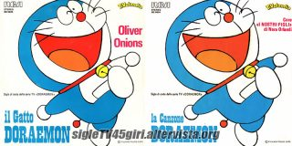 Il gatto Doraemon / La canzone di Doraemon disco vinile 45 giri