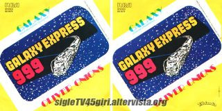 Galaxy disco vinile 45 giri