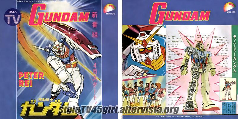 Vinile 45 giri Gundam / Bright