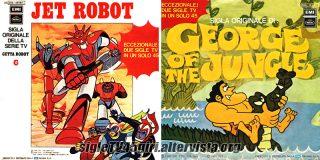 Jet Robot / George disco vinile 45 giri