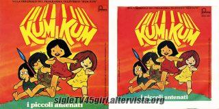 Kum Kum / Kum Kum (strumentale) disco vinile 45 giri