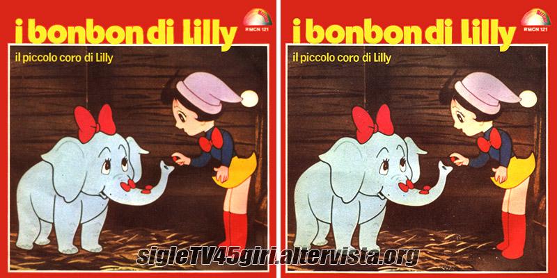 Vinile 45 giri I bonbon di Lilly / Toto