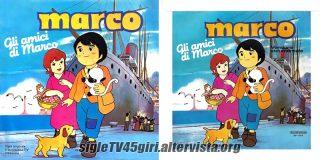 Marco / Marco (strumentale) disco vinile 45 giri
