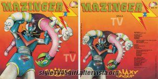 Mazinger Z / Figli di Giove disco vinile 45 giri