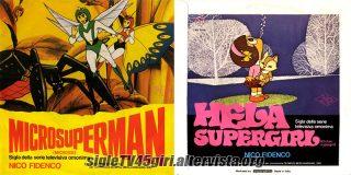 Microsuperman / Hela Supergirl disco vinile 45 giri