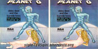 Planet O disco vinile 45 giri