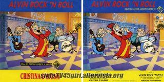 Alvin rock 'n' roll disco vinile 45 giri