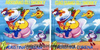 Arrivano gli Snorky / Ciao siamo gli Snorky disco vinile 45 giri