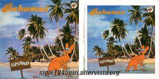 Bahamas / We'll be out disco vinile 45 giri