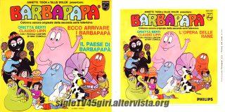 Ecco arrivare i Barbapapà / Il paese di Barbapapà / L'opera delle rane disco vinile 45 giri