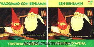 Viaggiamo con Benjamin / Ben-Benjamin disco vinile 45 giri