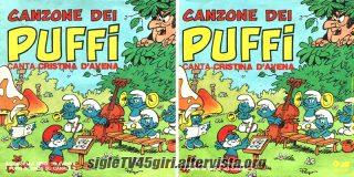 Canzone dei Puffi / Ghimbirighimbi disco vinile 45 giri