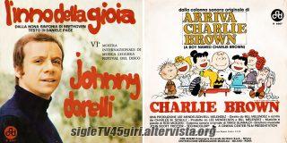 L'inno della gioia / Charlie Brown disco vinile 45 giri