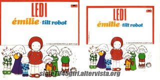 Émilie / Tilt Robot disco vinile 45 giri