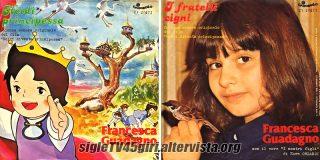 Heidi principessa / I fratelli cigni disco vinile 45 giri