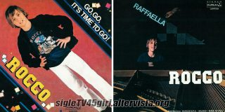 Go, Go, It's Time to Go! / Raffaella disco vinile 45 giri