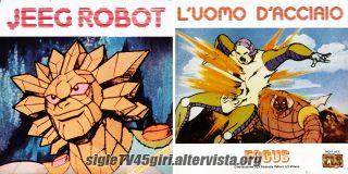 Jeeg Robot / Halgatron disco vinile 45 giri