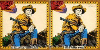 La ballata di Tex / Tex's Stomp Music disco vinile 45 giri