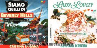 Siamo quelli di Beverly Hills / Lady Lovely disco vinile 45 giri