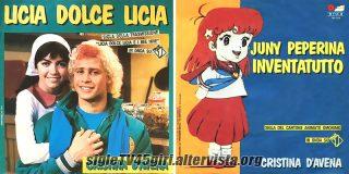 Licia dolce Licia / Juny peperina inventatutto disco vinile 45 giri