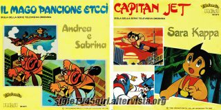 Il Mago Pancione Etccì / Capitan Jet disco vinile 45 giri