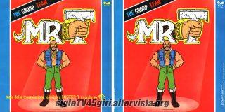 Mr. T disco vinile 45 giri