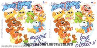 Muppet Babies / Buio è bello sì disco vinile 45 giri