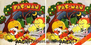 Pac-Man disco vinile 45 giri