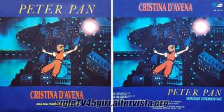 Peter Pan disco vinile 45 giri